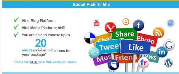 Social pick n mix