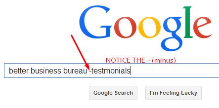 remove fake testimonial