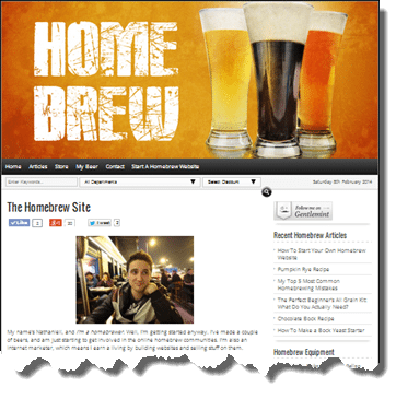 WA review Homebrew Site