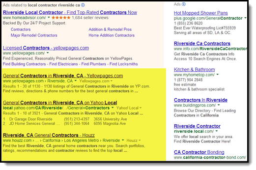 google results search