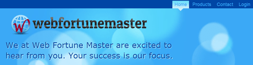 web fortune master logo
