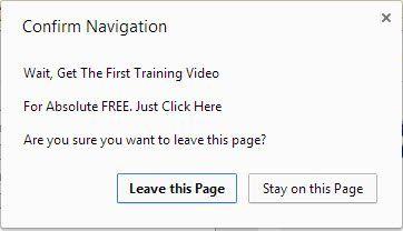 Free Training?