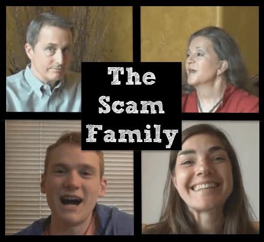 Mobile Money Code Scam Family
