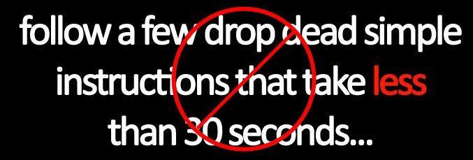 Drop dead simple