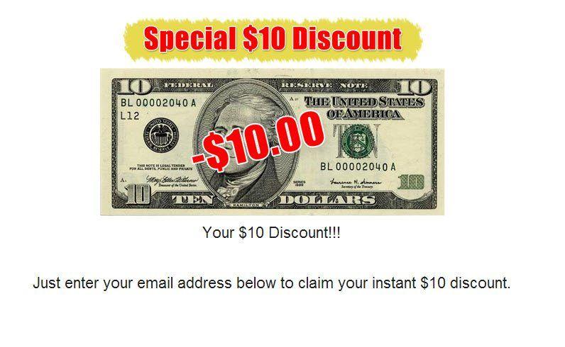 Special 'discount'