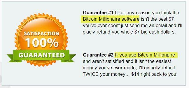 Money back 'guarantee'