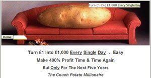couch potato millionaire