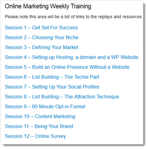 online marketing academy webinars