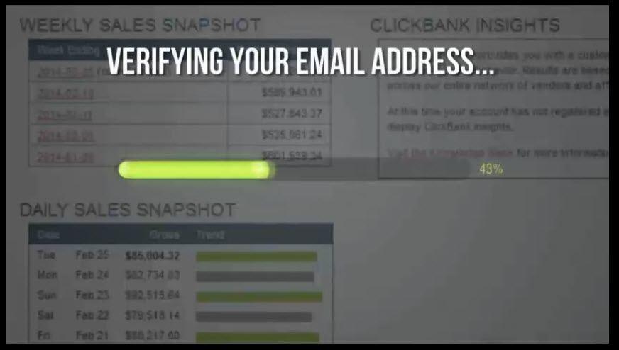 Verifying email address?