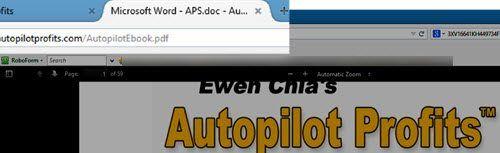 autopilot profits screenshot