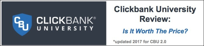 Clickbank University 2.0 Review: Is it Worth The Price?