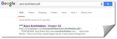 azon annihilation google