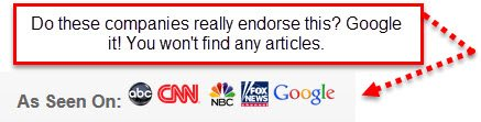 fake endorsements
