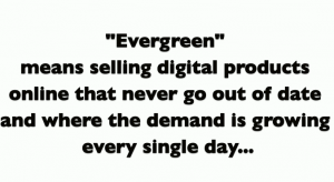 Evergreen niche definition