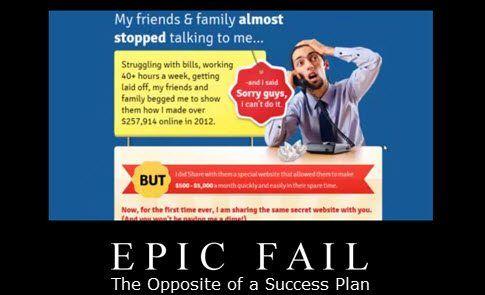 erics success plan fail