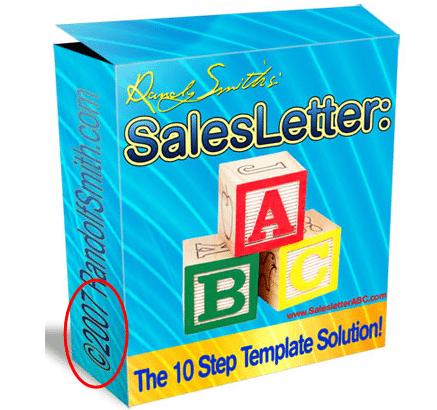 Im starter pack sales letter