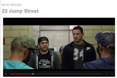 Swagbucks tv clip example. This is a clip from the 22 jump street trailer