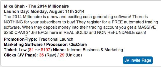2014 millionaire mike shah