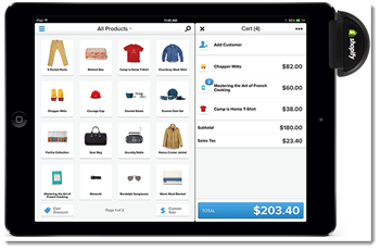 Shopify POS iPad