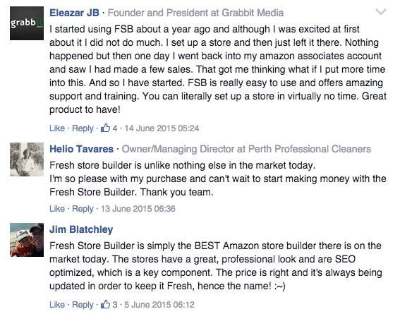 fresh store builder facebook comments 2