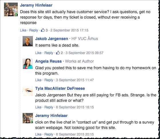 fresh store builder facebook comments