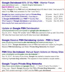 google deindex backlinks