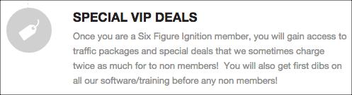 sfi vip deals