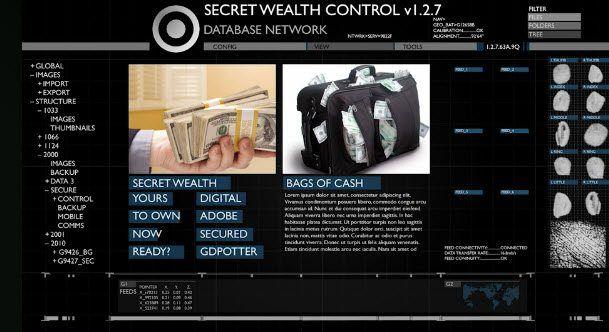 Secret Wealth Control