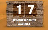 Membership spots