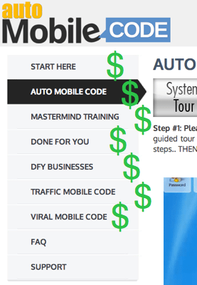auto mobile code members