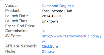 fast income club desmond ong