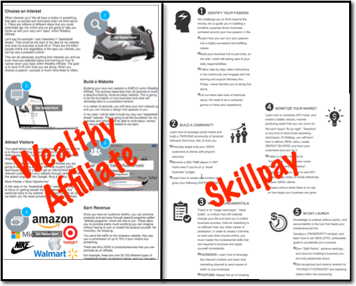 wealthy affiliate skillpay main page2