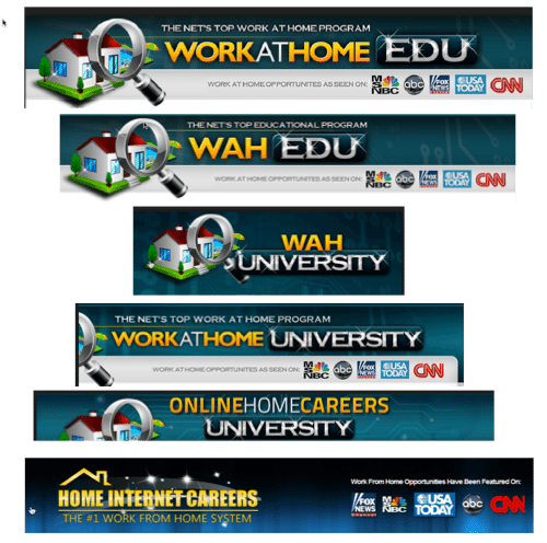 work at home edu copycats