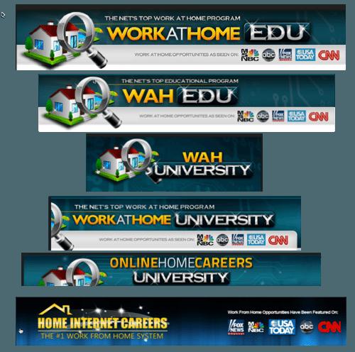 work at home edu copycats