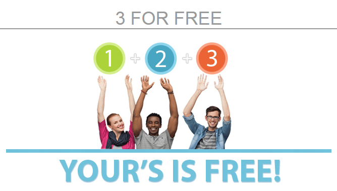 3 for Free