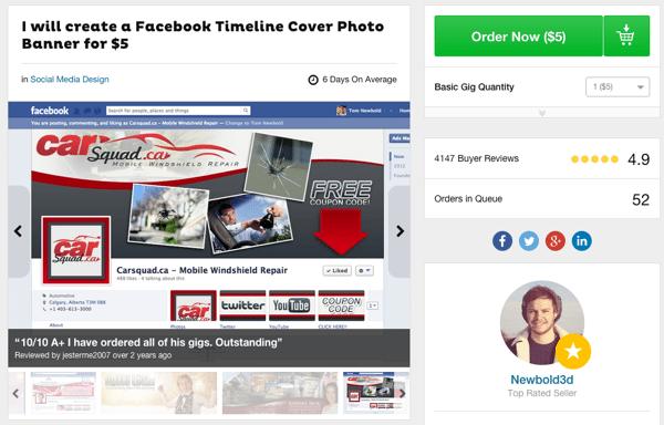 facebook page gig