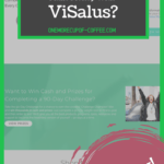 """screenshot of visalus homepage with the heading title """"can you really make money with visalus"""""""