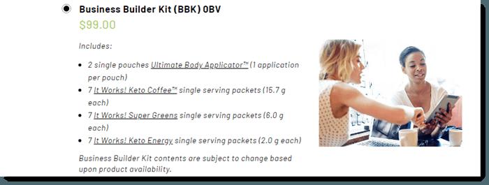ItWorks Starter Kit