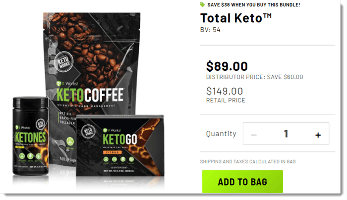 Total Keto Pack