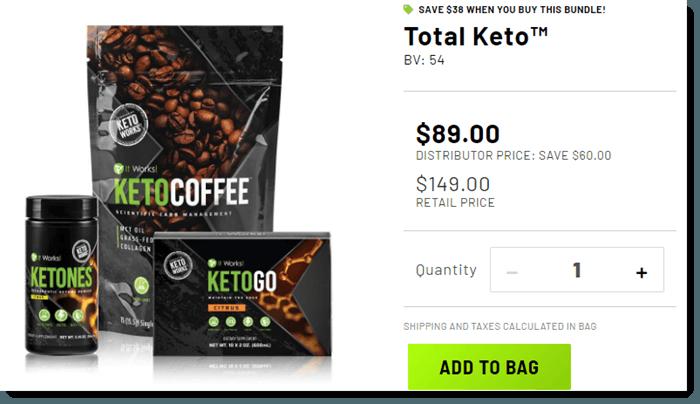 Total Keto Pack