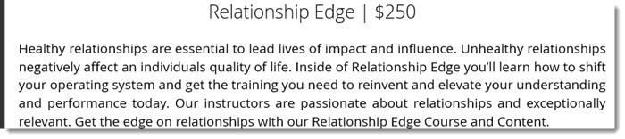 Description of Relationship Edge