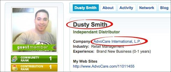 dusty smith advocare