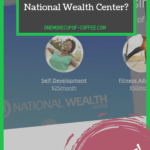 """screenshot of the national wealth center website home page with text overlay that says, """"can you really make money with the national wealth center?"""""""