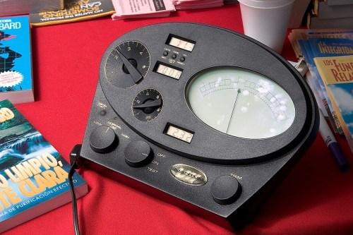 scientology machine
