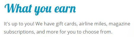 What You Earn