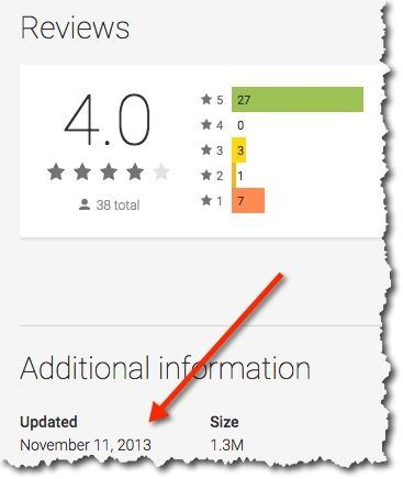 android update shopping sherlock