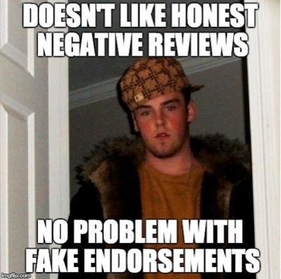 fake endorsements