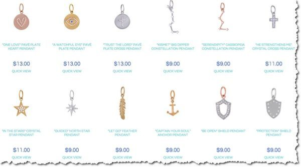 jewelry options 1