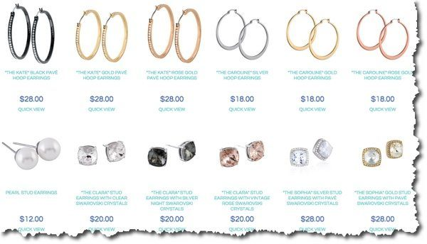 jewelry options 2