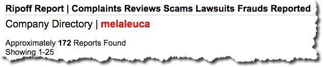 melaleuca scam 2